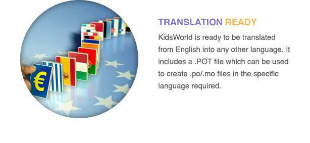 kidsworld-theme-features