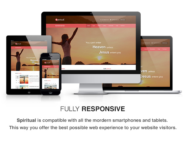 Spiritual - Church WordPress Theme (Responsive)