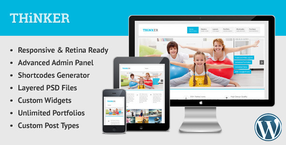 Maker - Responsive WordPress Blog Theme